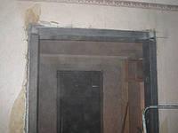 Алмазная резка проемов в Харькове с усиление металлом установка швеллере в заподлицо со стеной, фото 1