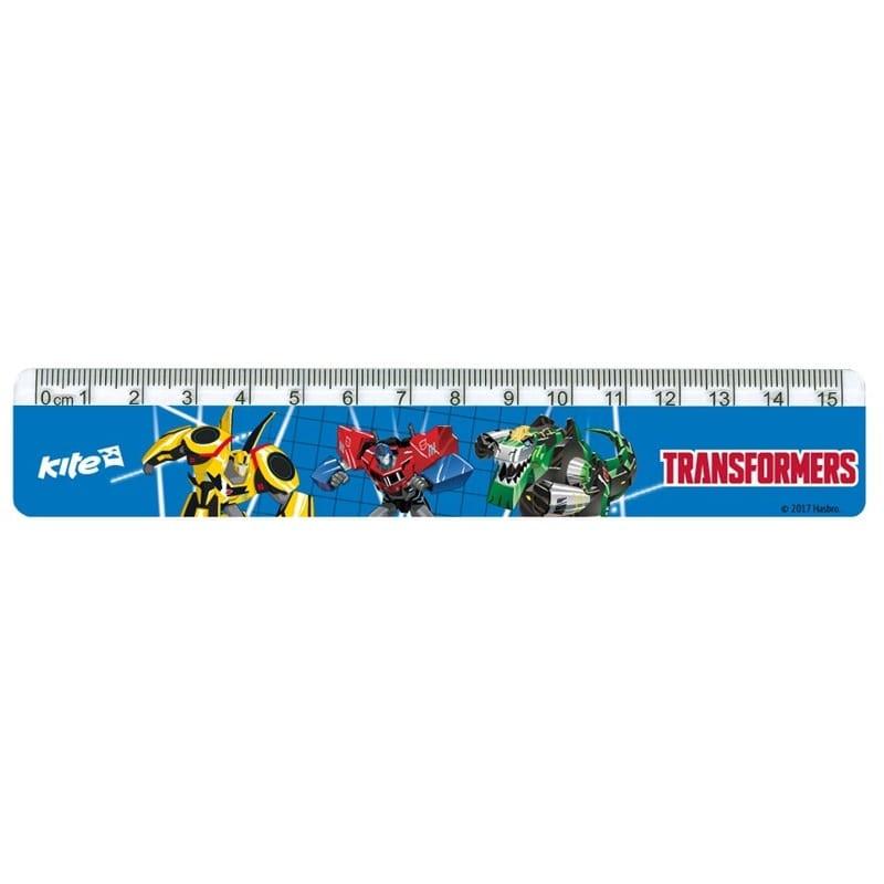 Линейка пластиковая Kite TRANSFORMERS   TF 17-090
