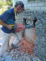 Демонтажные работы: фундаменты, перекрытия, стены, ростверки и колонны в Харькове
