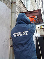 Алмазное сверление отверстий в бетоне под вентиляцию в Харькове