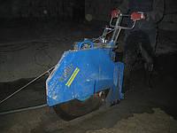 Алмазная резка бетонных полов швонарезчиком глубиной пропила до 320мм.