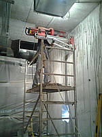 Алмазное сверление отверстий в железобетоне, бетоне, кирпиче в Харьков