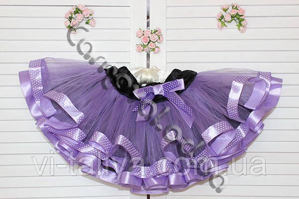 e7bf868c6cc Сиреневая юбка пачка для девочки  продажа