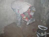 Демонтажные работы снос сан кабины, перегородок, резка проемов с усилением в Харькове