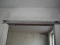 Исправления строительного брака при резки и уселении проема в несущей стене