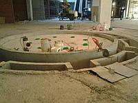 Алмазная резка проемов в бетоне в фонтанной чаше