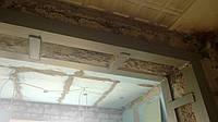 Увеличение выхода на балкон и усиление металлом