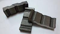 Сегмент для алмазных коронок, алмазные коронки (реставрация алмазных коронок), фото 1