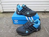 Женские кроссовки (Подростковые) синие