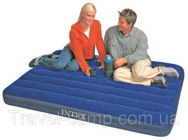 Двухспальный надувной матрас Intex 68765, фото 2