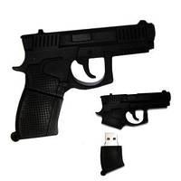 Флешка 8 Gb силиконовая Пистолет