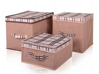 Короб для хранения вещей Beige 30*30*16 см, Design Line (Украина) 4401