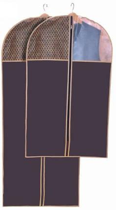 Чехол для одежды Brown 60*100 см, Design Line (Украина) 4615, фото 2