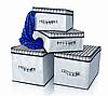 Короб для хранения вещей Black&White 30*30*16 см, Design Line (Украина) 2226