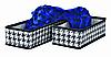 Набор органайзеров для хранения вещей Black&White 2 шт., Design Line (Украина) 2220