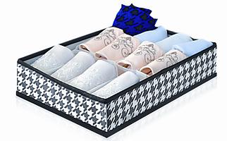 Органайзер для мелких вещей на 16 ячеек Black&White, Design Line (Украина) 2224