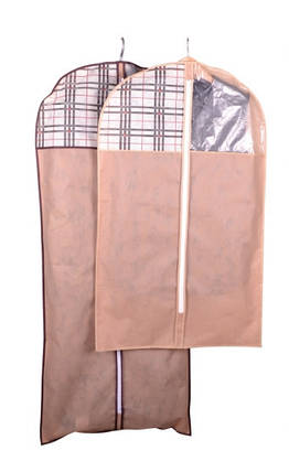 Чехол для объемной одежды Beige 60*100*8 см, Design Line (Украина) 4419, фото 2