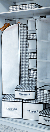 Короб для хранения вещей Black&White 30*40*30 см, Design Line (Украина) 2225, фото 2