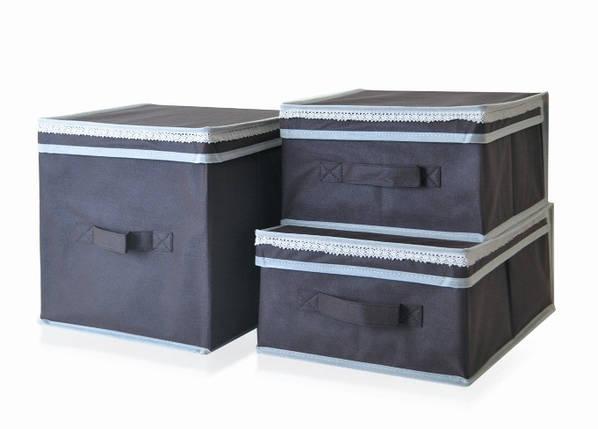 Короб для хранения вещей Lace 30*40*16 см, Design Line (Украина) 2304, фото 2