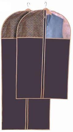 Чехол для длинной одежды Brown 60*140 см, Design Line (Украина) 4616, фото 2