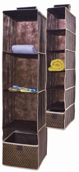 Органайзер вертикальный Brown 6 полочек 15*30*84 см, Design Line (Украина) 4609