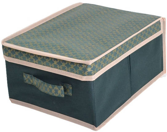 Короб для хранения вещей 30*30*16 см , Gold Green, Design Line (Украина), фото 2