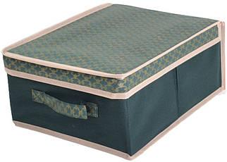 Короб для хранения вещей 30*40*16 см, Gold Green, Design Line (Украина)