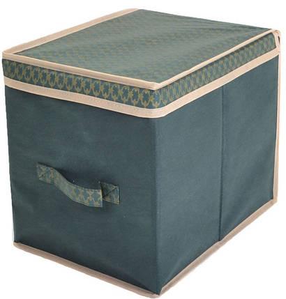 Короб для хранения вещей 30*40*30 ,Gold Green, Design Line (Украина), фото 2