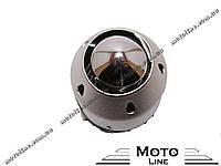 Воздушный фильтр нулевого сопротивления, прямой, D=35 mm хромированный