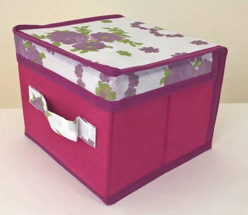Короб для хранения вещей Bordo 20*20*15 см, Design Line (Украина), фото 2