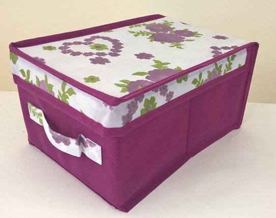Короб для хранения вещей Bordo 20*30*15 см, Design Line (Украина), фото 2