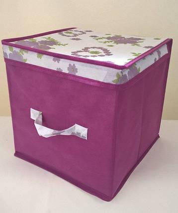 Короб для хранения вещей Bordo 30*30*30 см, Design Line (Украина), фото 2