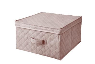Коробка для хранения вещей 43*47*25 см бежевая, Design Line (Украина)