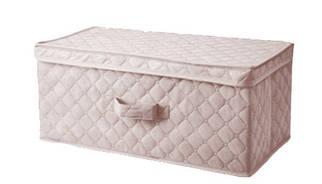 Коробка для хранения вещей 58*30*25 см бежевая, Design Line (Украина)