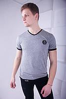Стильная мужская футболка Philipp Plein серая