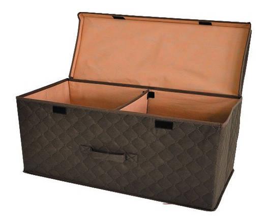 Коробка для хранения вещей 58*30*25 см коричневая, Design Line (Украина), фото 2