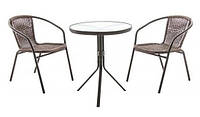Комплект стол и 2 стула RITA, фото 1