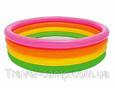 Дитячий надувний басейн Intex 56441 Веселка Інтекс