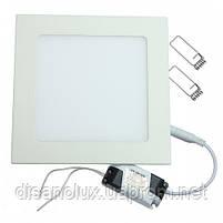 Светодиодный светильник LED панель 18W  6500К 220в  (квадрат), фото 2