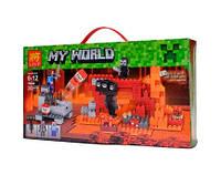 Детский конструктор Lele Minecraft 79265 Иссушитель , 252 детали