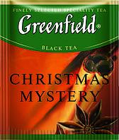 Чай Гринфилд черный с пряностями Christmas Mystery 100 пакетиков ХоРеКа