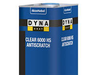 PAINTERA (DYNA) Лак акриловый НS 6000 Dynacoat Clear, 1л 2+1, без отвердителя