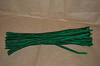 Синельная проволока темно зеленый