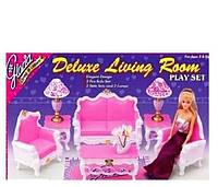 Набор мебели  для куклы барби  Гостиная (2317)