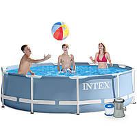 Каркасный бассейн Intex 28702 с фильтром  , 305х76 см