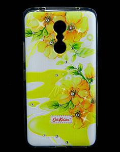 Чехол накладка для Lenovo K6 Note K53a48 силиконовый Diamond Cath Kidston, Sun Flowers