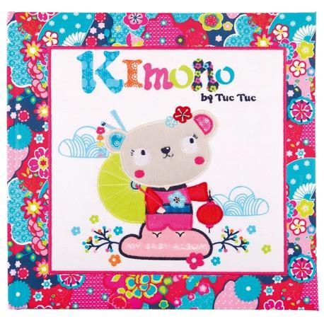 Альбом для малыша KIMONO Tuc Tuc, розовый