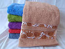 Махровое полотенце. Размер: 1,4x 0,7, фото 2
