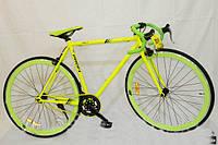 """Велосипед PROFI FIX 28"""" G58JOLLY S700C-3H, салатовый***"""