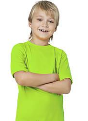 Футболка KLP Kids салатовая